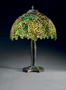 Eddie Rickenbacker Tiffany Lamps