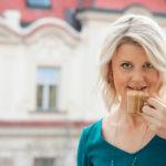 Michaela Illiková – S kávou mám nezabudnuteľné zážitky